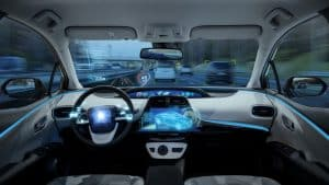 autonomous vehicle interior concept