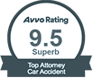 AVVO Top Car Accident Rating
