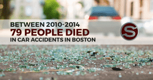 Boston car accident graphic statistic