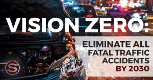Boston Vision Zero program infographic