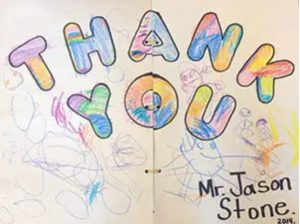 Thank you note to Jason Stone Lawyer